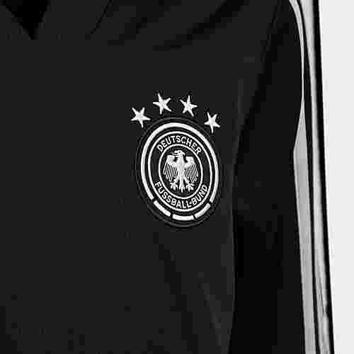 adidas DFB Trainingsoberteil Sweatshirt Kinder Black / Eqt Green / Grey Two