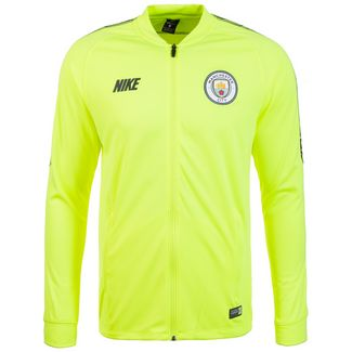 Nike Manchester City Dry Squad Sweatjacke Herren neongelb / dunkelblau
