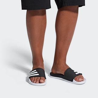 brand new 2f804 11a12 adidas Sandalen Herren Core Black  Ftwr White  Ftwr White