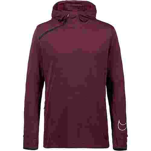 Nike Sphere Laufhoodie Herren black-htr-night maroon-reflective silv
