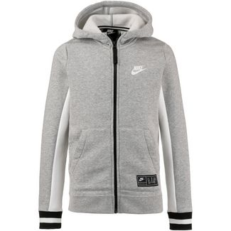 Nike Air Sweatjacke Kinder dark-grey-heather-sail-black