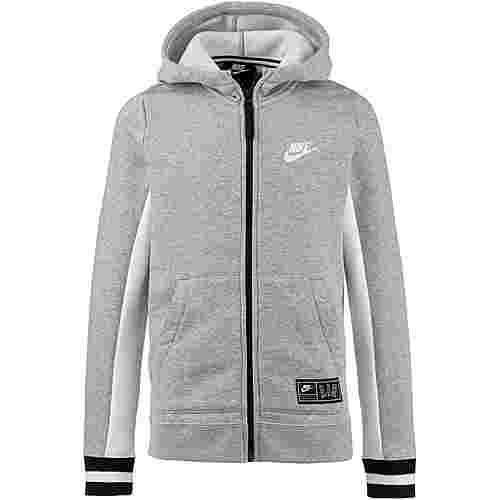 Nike Air Sweatjacke Kinder dark-grey-heather-sail-black