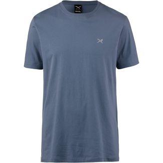 iriedaily Turn Up T-Shirt Herren thunder blue
