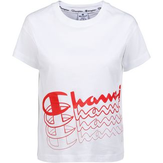 CHAMPION Croptop Damen white