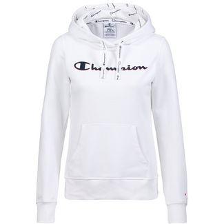 CHAMPION Hoodie Damen white
