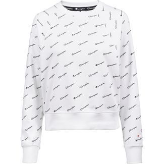 CHAMPION Sweatshirt Damen white