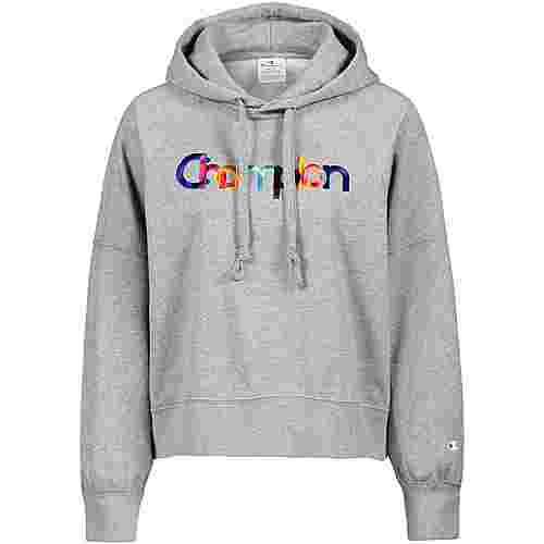 CHAMPION Hoodie Damen oxford grey melange yarn dyed