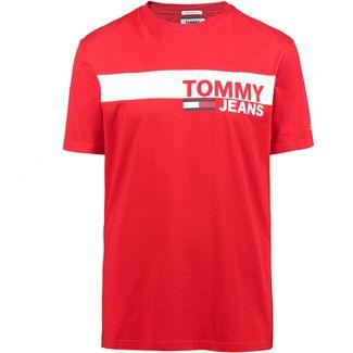 Tommy Jeans T-Shirt Herren flame scarlet