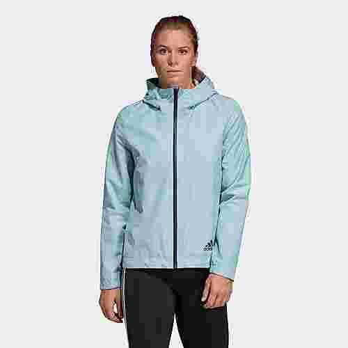 adidas Climaproof Regenjacke Funktionsjacke Damen Ash Grey im Online Shop von SportScheck kaufen