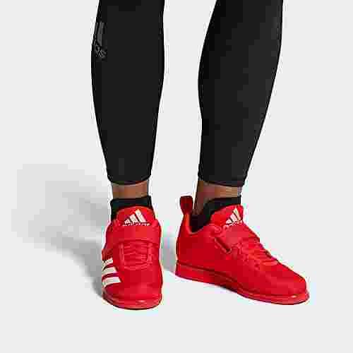 adidas Powerlift 4 Schuh Hallenschuhe Herren Active Red / Cloud White / Active Red