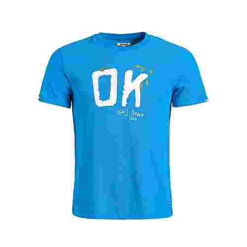Khujo ELIJAH OK T-Shirt Herren blau