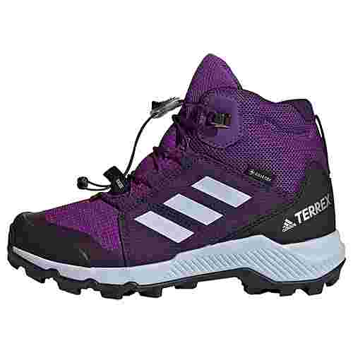 adidas GTX® TERREX Mid GTX Schuh Wanderschuhe Kinder Active Purple / Aero Blue / True Pink