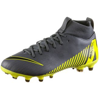 newest b0559 d3144 Nike JR MERCURIAL SUPERFLY 6 ACADEMY GS FGMG Fußballschuhe Kinder dk  grey-black