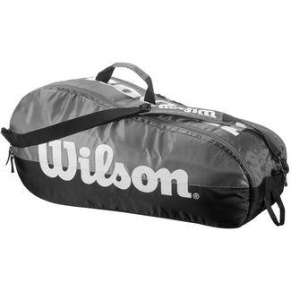 Wilson TEAM 2 COMP Tennistasche grey-black