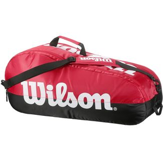 Wilson TEAM 2 COMP Tennistasche red-black