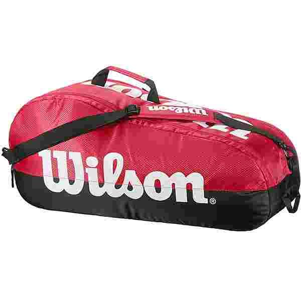 Wilson TEAM 2 COMP Tennistasche red-black