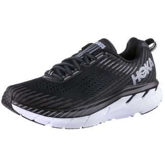 Hoka One One Clifton 5 Laufschuhe Damen black-white
