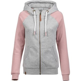 Only onlSOFIA Sweatjacke Damen light grey melange