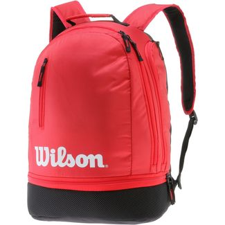 Wilson TEAM Tennisrucksack black-red