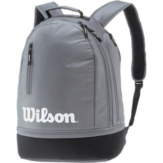 Wilson TEAM Tennisrucksack grey-black