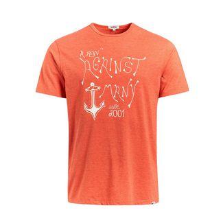 Khujo FINN ANCHOR T-Shirt Herren orange