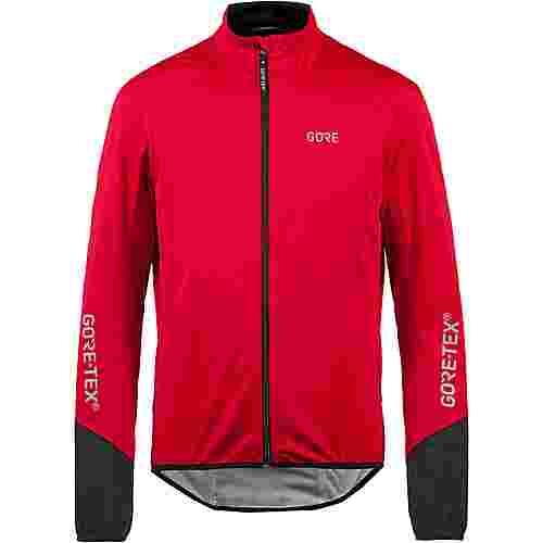 GORE® WEAR C5 Active GORE-TEX® Fahrradjacke Herren red/black