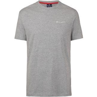 CHAMPION T-Shirt Herren oxford grey melange yarn dyed