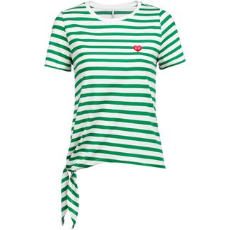 Only onlBRAVE T-Shirt Damen cloud dancer-jolly green