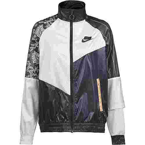 Nike NSW Nylonjacke Damen black-white-black