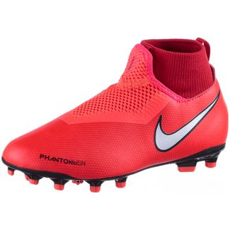 pretty nice f8840 d67dd Nike JR PHNTOM VSN ACADEMY DF FGMG Fußballschuhe Kinder brt crimson-mtlc  silver