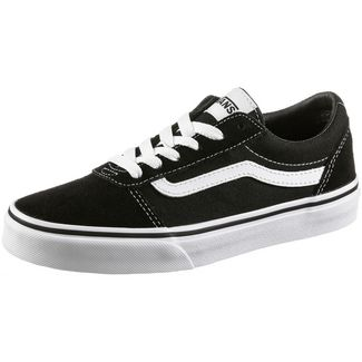 Vans YT Ward Sneaker Kinder black-white