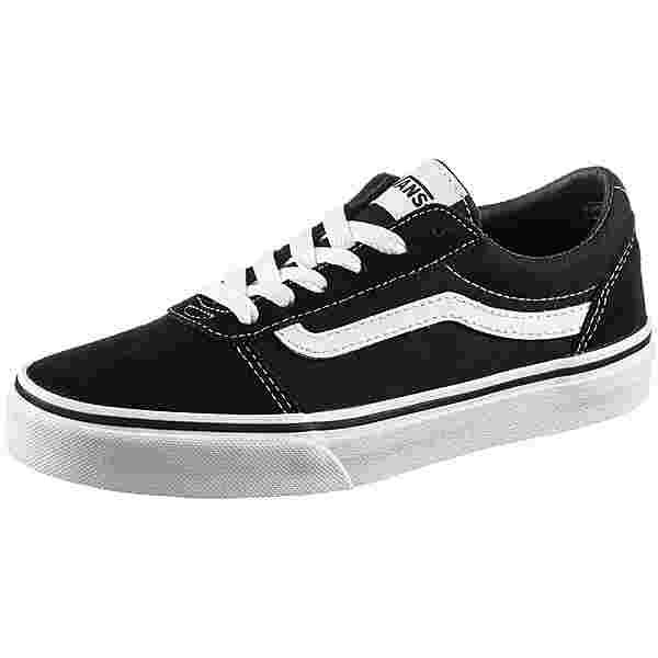 Vans WARD SUEDE Sneaker Kinder black-white