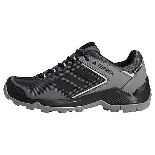 adidas TERREX Eastrail GTX Schuh Wanderschuhe Damen Grey Four Core Black Clear Mint im Online Shop von SportScheck kaufen