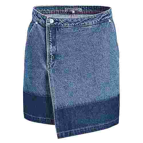 Khujo KEEVA Jeansrock Damen jeansblau dunkel
