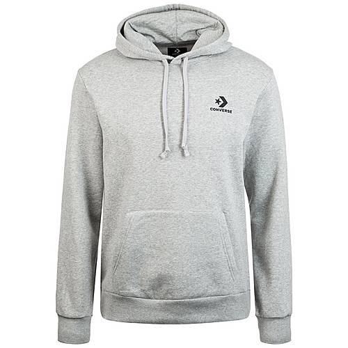 CONVERSE Star Chevron Kapuzenpullover Herren grau im Online Shop von SportScheck kaufen