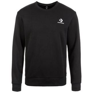 CONVERSE Star Chevron Embroidered Crew Sweatshirt Herren schwarz