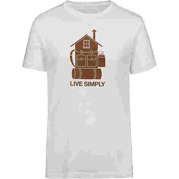 Patagonia Live Simply Home Organic T-Shirt Herren white
