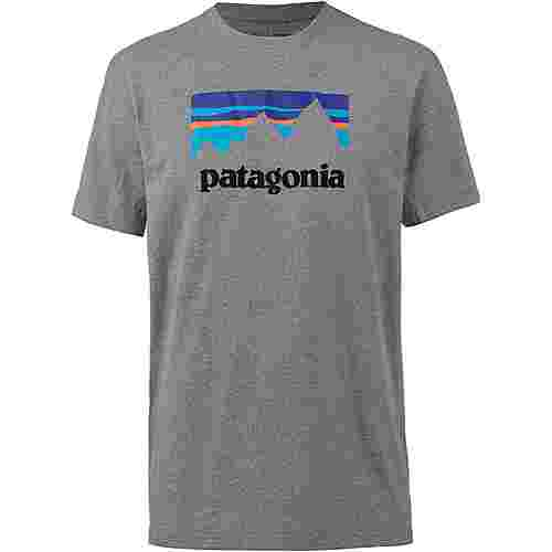 Patagonia M`S SHOP STICKER T-Shirt Herren gravel heather