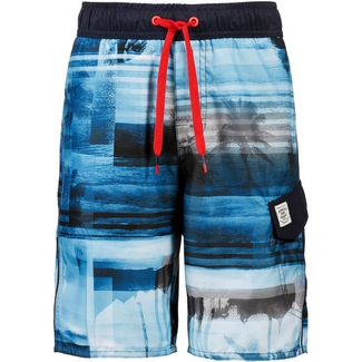 Protest Julien Badeshorts Kinder medium blue