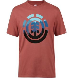 Element Glimpse T-Shirt Herren etruscan red