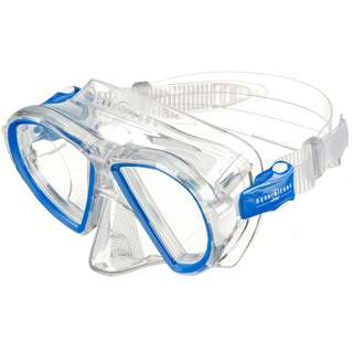 AQUA LUNG Duetto Taucherbrille blue-white