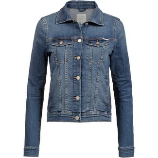 TOM TAILOR Jeansjacke Damen mid stone wash denim