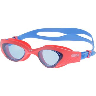 Arena The One JR Schwimmbrille Kinder lightblue-red-blue