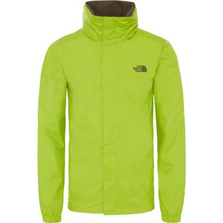 The North Face Resolve 2 Regenjacke Herren lime green-new taupe green