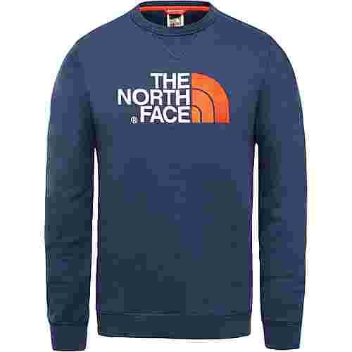 The North Face  DREW PEAK Sweatshirt Herren urban navy-fiery red