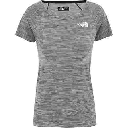 The North Face IMPENDOR SEAMLESS Funktionsshirt Damen tnf black white heather