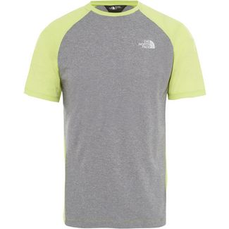 The North Face PURNA Funktionsshirt Herren lime green white heather-tnf black white heather