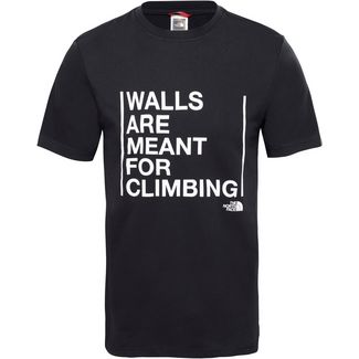 The North Face WALLS ARE FOR CLIMBING T-Shirt Herren tnf black