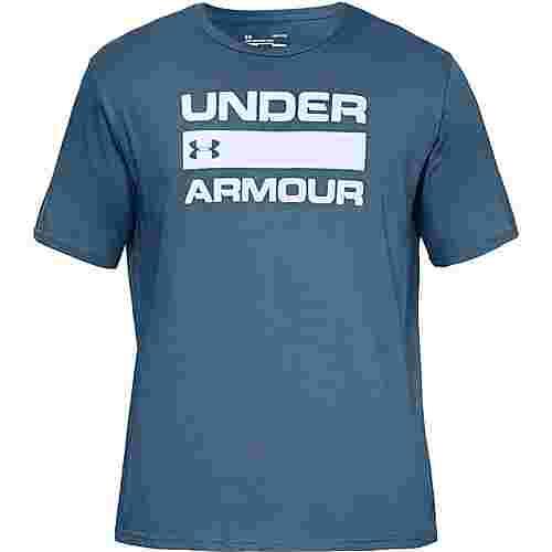 Under Armour TEAM ISSUE WORDMARK Funktionsshirt Herren blue