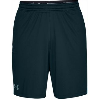Under Armour MK1 INSET FADE Funktionsshorts Herren green